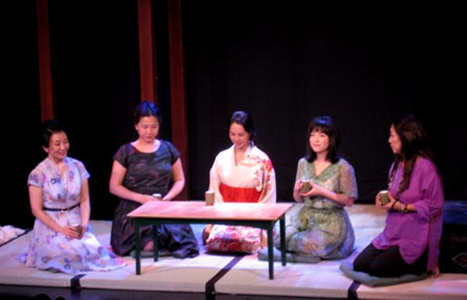 "Pan Asian Repertory Theatre, ""Tea,"" 2007"